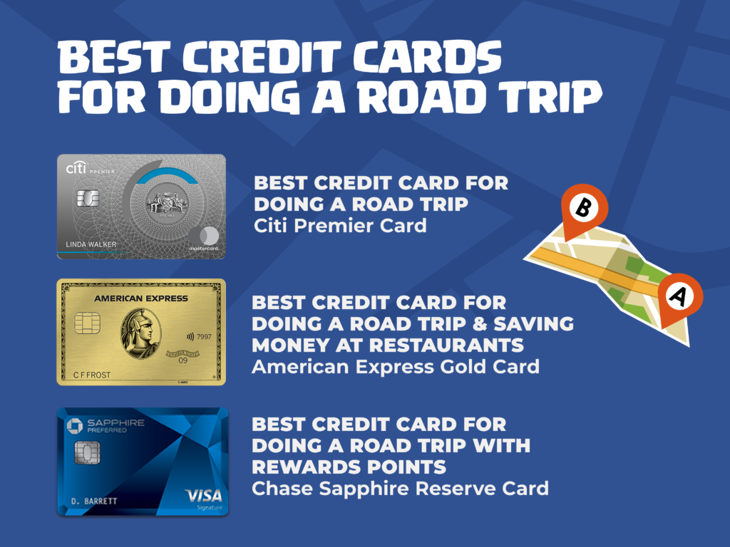 Best credit cards for doing a road trip