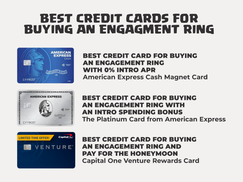 Best Credit Card for Buying an Engagement Ring