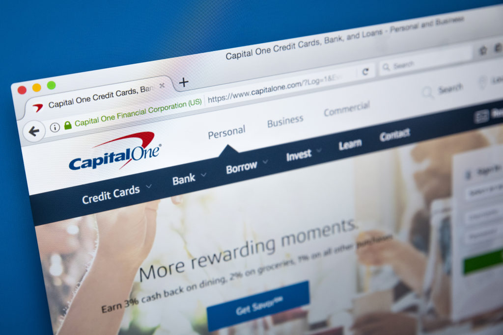 Application is easy and accounts can be managed straight from the Capital One website.