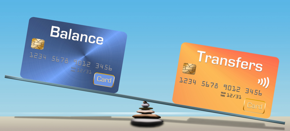 What are the benefits of a balance transfer with credit cards?