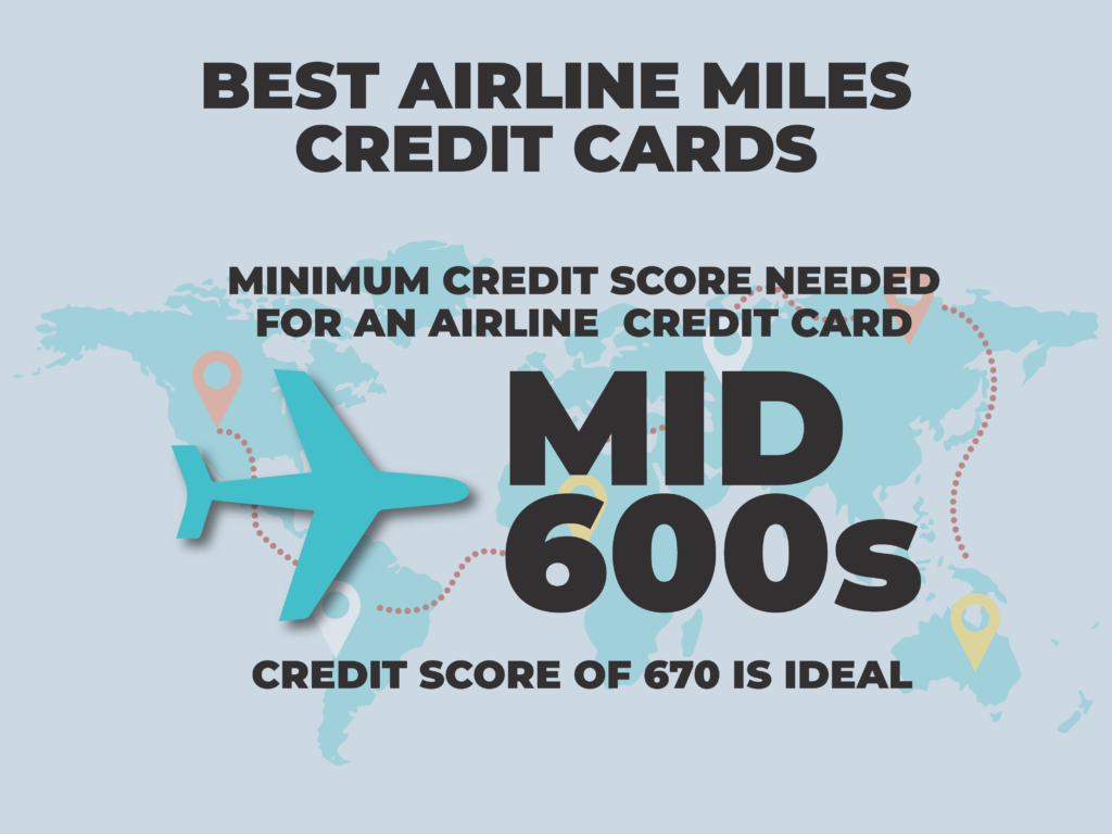 What credit score do you need for airline credit card?