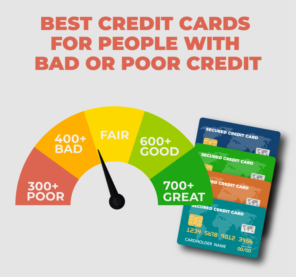 Best Credit Cards for People with Bad or Poor Credit